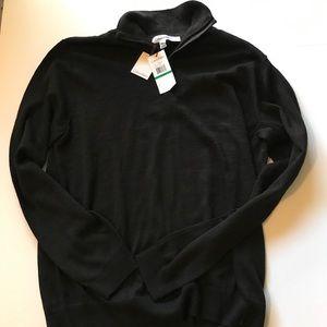Calvin Klein Mens 1/4 zip up pullover sweater NWT